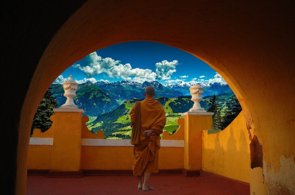 Magnificent landscapes in India